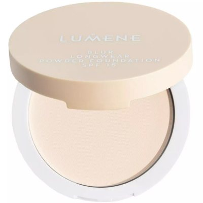 Lumene Longwear Blur Powder Foundation 0 Light Ivory SPF15 10g
