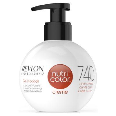 Revlon Nutri Color Creme 740 Light Copper 270ml